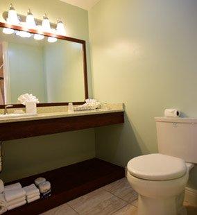 Green Turtle Club Bathroom