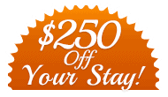 250 Off Your Stay